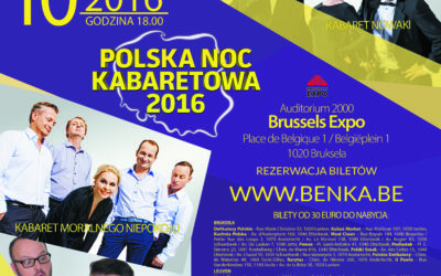 Benka-Polska Noc Kabaretowa 2016 w Brukseli